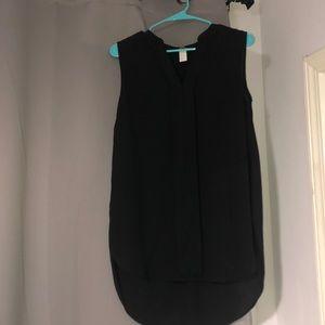 Sleeveless h&m blouse